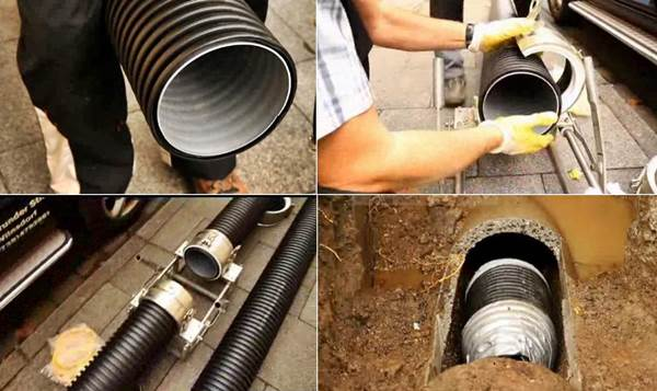 Abflussrohr abdichten best verstopft waschbecken for Abwasserleitung verstopft