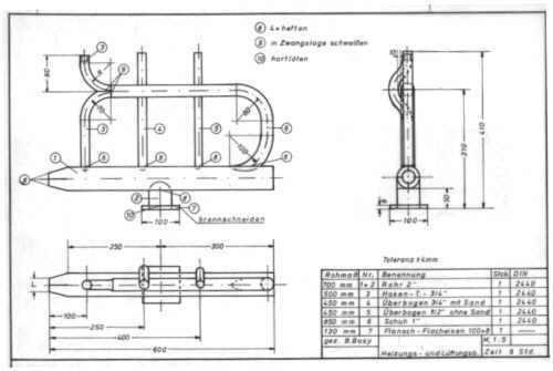 arbeitstechniken der rohrbearbeitung. Black Bedroom Furniture Sets. Home Design Ideas
