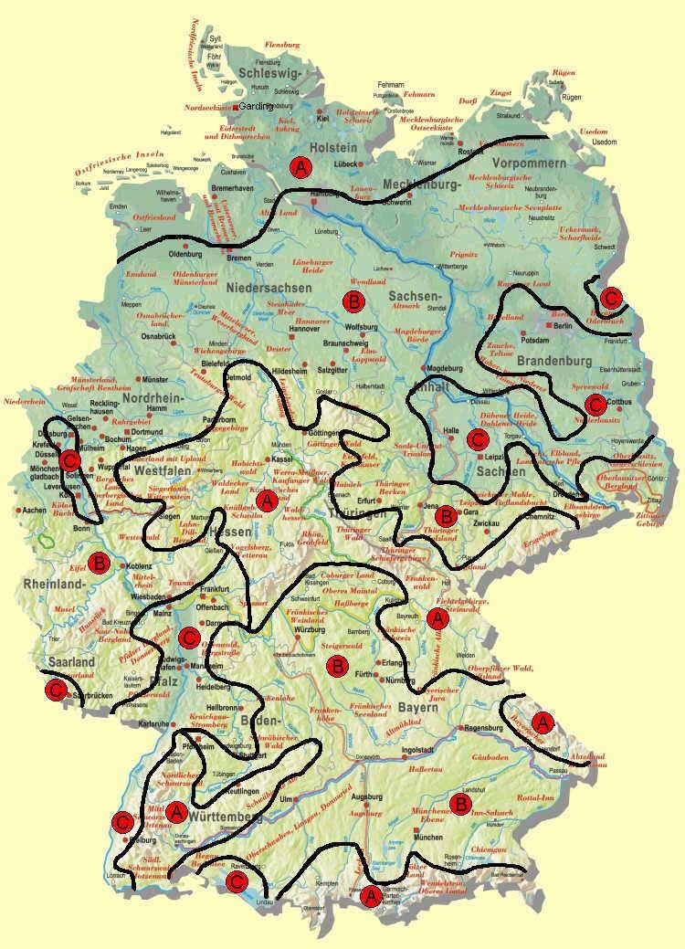 geografie online