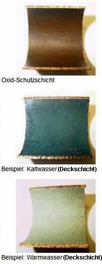 Edelrost Auf Kupfer korrosionsschutz