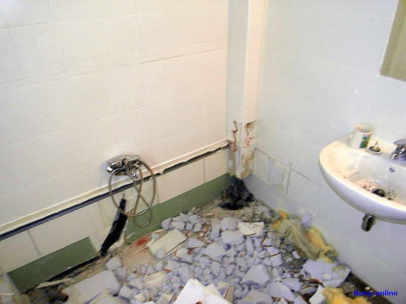 Das Badezimmer Stinkt