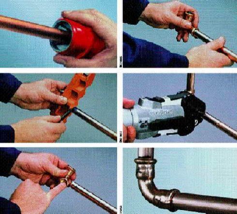 geräte vzum abdrücken von wasserleitungen