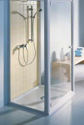 Barrierefreie Dusche Vorhang: Kleines bad ideen platzsparende ...