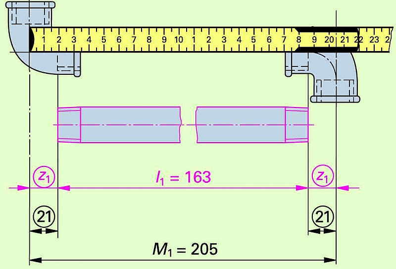 rohrleitung berechnen str mungstechnik formelsammlung u. Black Bedroom Furniture Sets. Home Design Ideas